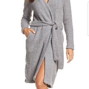 UGG Size S ANA SWEATER KNIT WRAP ROBE Driftwood